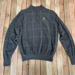 Peter Millar Men's Merino Wool 1/4 Zip Sweater